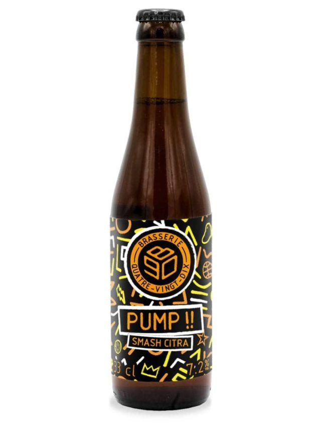 bouteille pump biere smash citra ipa