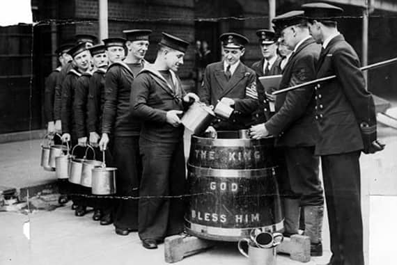 royal navy biere
